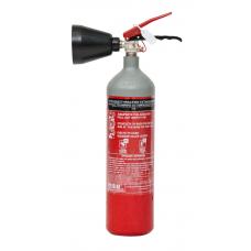 Πυροσβεστήρας 2Kg CO2 Βαρέως Τύπου Χοάνη
